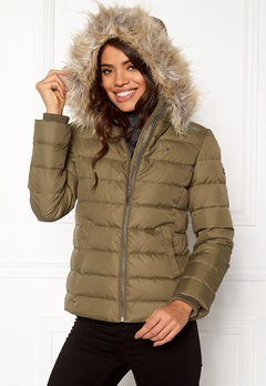 TOMMY HILFIGER DENIM Basic Down Jacket Crocodile Bubbleroom.fi