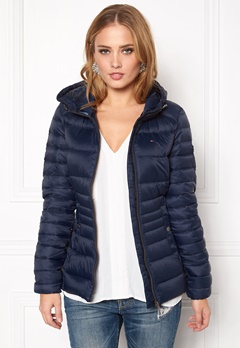 TOMMY HILFIGER DENIM Basic Puffa Jacket 416 Navy Blazer Bubbleroom.se