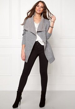 TOMMY HILFIGER DENIM Cardigan 009 Lt Grey Bubbleroom.se