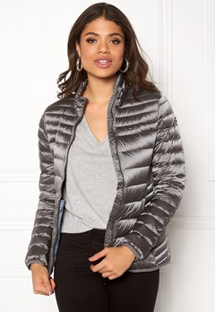TOMMY HILFIGER DENIM Light Down Jacket 415 Glacier Grey Bubbleroom.se