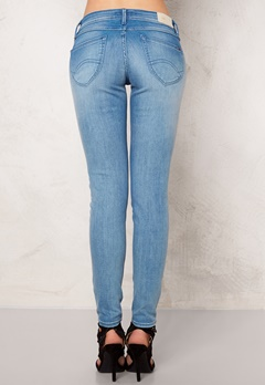 TOMMY HILFIGER DENIM Low Rise Skinny 7/8 Sophie 911 Azur Stretch Bubbleroom.no