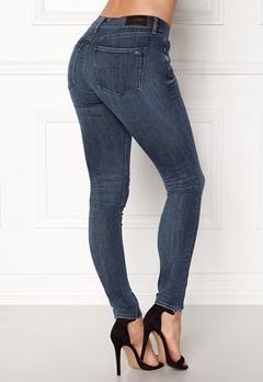 TOMMY HILFIGER DENIM Mid Rise Skinny Nora Dynamic new blue Bubbleroom.fi