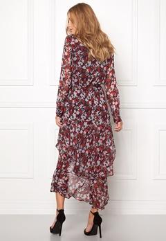 TOMMY HILFIGER DENIM Printed Maxi Dress 902 Rhubarb/Multi Bubbleroom.fi
