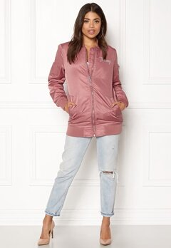 TOMMY HILFIGER DENIM THDW Nylon Bomber Withered Rose Bubbleroom.fi