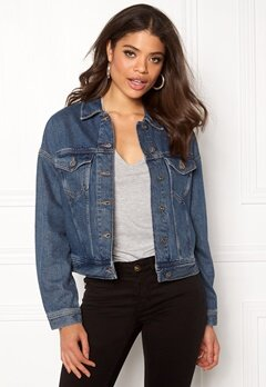 TOMMY HILFIGER DENIM Trucker Jacket 911 Varsity Denim Bubbleroom.fi