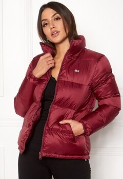 TOMMY JEANS Classics Puffa Jacket Rumba Red Bubbleroom.se