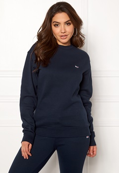 TOMMY JEANS Classics Sweatshirts 002 Black Iris Bubbleroom.se