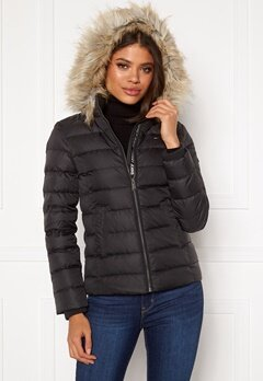 TOMMY JEANS Essential Down Jacket 078 Tommy Black Bubbleroom.se
