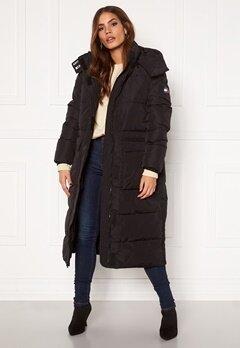 TOMMY JEANS Oversize Modern Puffa Coat BDS Black Bubbleroom.se