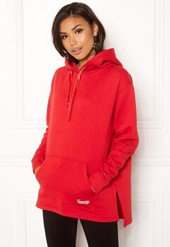TOMMY JEANS Side Slit Detail Hoodie Samba Bubbleroom.se