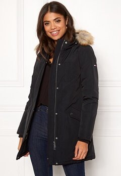 TOMMY JEANS Technical Down Jacket Tommy Black Bubbleroom.se