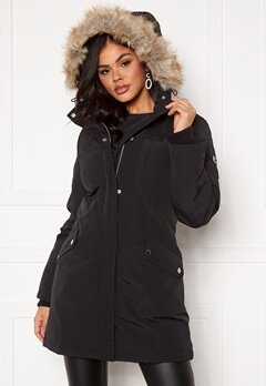 TOMMY JEANS Technical Down Parka BBU Black Bubbleroom.se