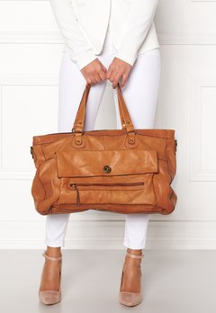Pieces Totally Royal Travel Bag Cognac Bubbleroom.se