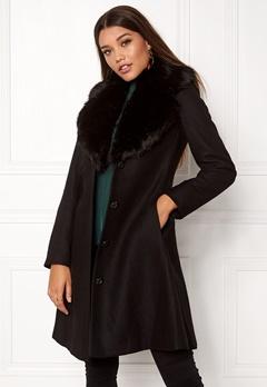Ida Sjöstedt Tracey Coat Black/Black Bubbleroom.se