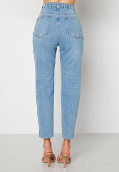 Trendyol Eco Cotton High Waist Jeans Blue bubbleroom.se