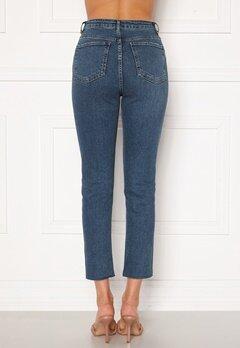 Trendyol High Waist Ankle Jeans Mavi/Blue Bubbleroom.se