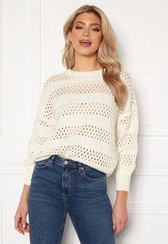 Trendyol Knitted Sweater Ecru Bubbleroom.se