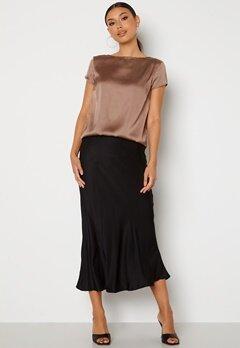 Trendyol Ronja Midi Skirt Black Bubbleroom.se