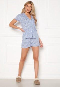 Trendyol Shirt Short Pyjama Set Multi Color Bubbleroom.se