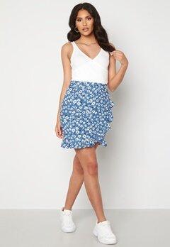 Trendyol Short Flounce Skirt Mavi/Blue bubbleroom.se