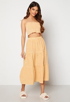 Trendyol Smock Top Skirt Set Sari/Yellow Bubbleroom.se