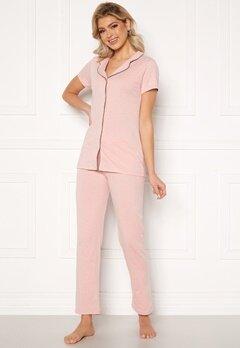 Trendyol SS Pant PJ Set Pudra/Powder Pink Bubbleroom.se