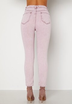 Trendyol Tova HW Jeans Pink Bubbleroom.se