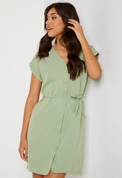 Trendyol V-Neck Button Dress Mint Bubbleroom.se