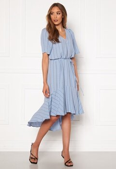 Twist & Tango Alexa Dress Dusty Blue Logo Bubbleroom.se