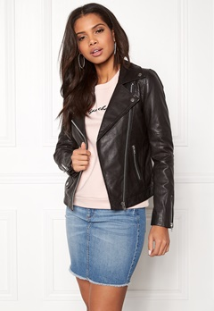 Twist & Tango Amanda Leather Jacket Black Bubbleroom.se