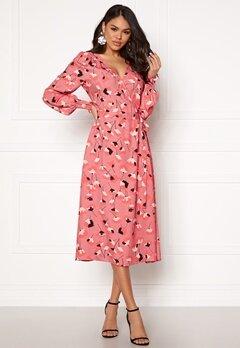 Twist & Tango Blanka Dress Winter Pink Flower Bubbleroom.se