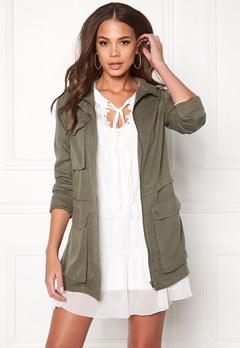 Twist & Tango Corinne Cargo Jacket Khaki Green Bubbleroom.no