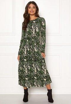 Twist & Tango Isabel Dress Green Snake Bubbleroom.se