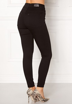 Twist & Tango Julie High Waist Jeans Black Bubbleroom.se
