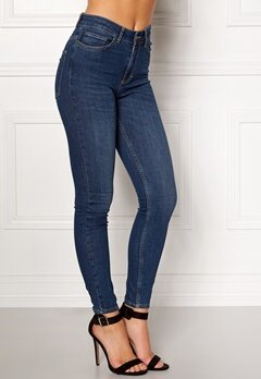 Twist & Tango Julie High Waist Jeans Dark Blue Bubbleroom.se