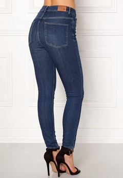 Twist & Tango Julie High Waist Jeans Dark Blue Bubbleroom.fi