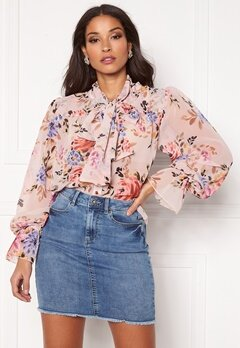 Twist & Tango Liv Blouse Pink Flower Bubbleroom.se