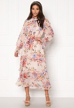 Twist & Tango Liv Dress Pink Flower Bubbleroom.se