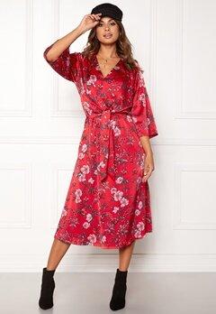 Twist & Tango Maxine Dress Red Flower Bubbleroom.se