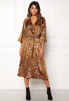 Twist & Tango Maxine Dress Rust Flower Bubbleroom.se