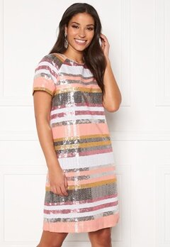 Twist & Tango Pernilla Sequin Dress Sequin Stripe Bubbleroom.se