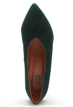 Twist & Tango Rio Leather Heels Blackish Green Bubbleroom.se