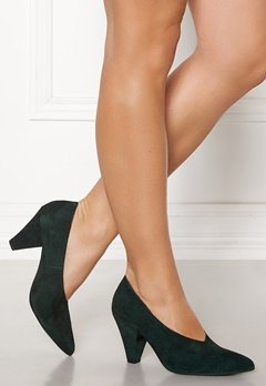 Twist & Tango Rio Leather Heels Blackish Green Bubbleroom.se