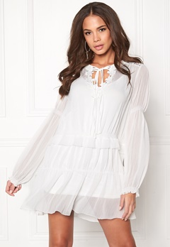 Twist & Tango Sage Dress Off White Bubbleroom.dk