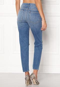 Twist & Tango Sarah Jeans Mid Blue Cut Bubbleroom.no