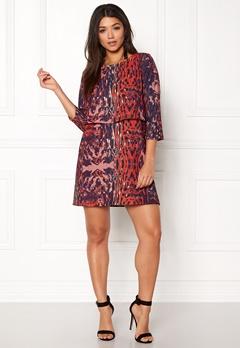 Twist & Tango Sasha Dress Wine Leopard Bubbleroom.se