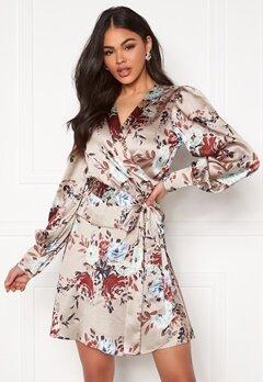 Twist & Tango Teresa Dress Khaki Flower Bubbleroom.se