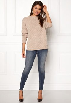 Twist & Tango Thea Sweater Beige Melange Bubbleroom.fi