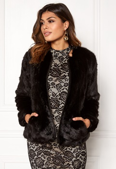 Twist & Tango Viola Faux Fur Jacket Black Bubbleroom.fi