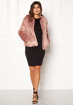 Twist & Tango Viola Faux Fur Jacket Rose Bubbleroom.no